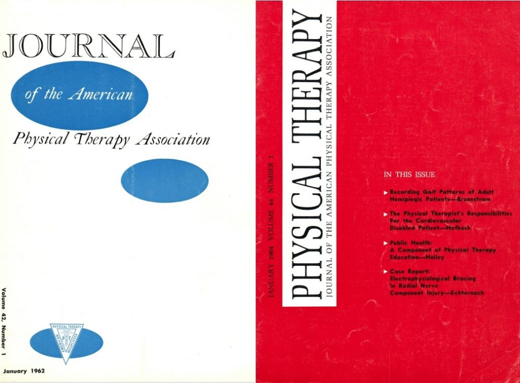 1962/1964 Physical Therapy Review Evolves Again.