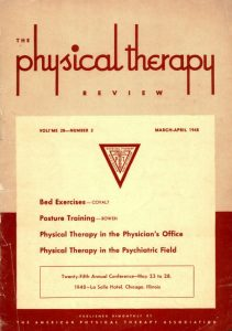 Physiotherapy Review Is Renamed Physical Therapy Review.