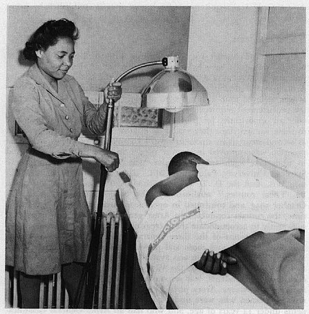 The Special Women's Medical Service Corps Program for African-Americans Launches.